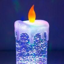 Többszínű LED Gyertya