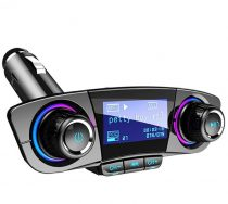 BT06 Autós Vezetéknélküli Bluetooth FM Transzmitter - Fekete