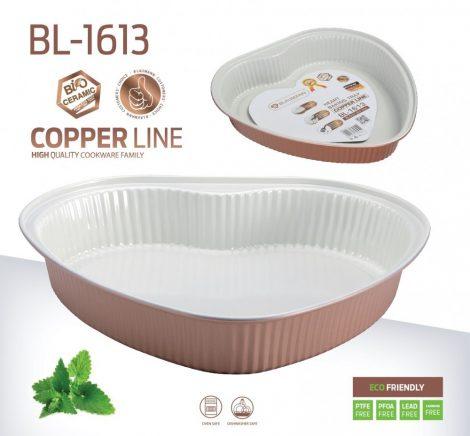 Blaumann Copper Line szív alakú tortaforma