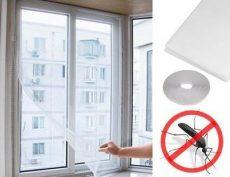 Tépőzáras szúnyogháló ablakra / 150 x 180 cm