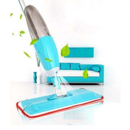 Spray mop folyadék adagolós padlótisztító - 2in1 seprű és felmosó egyben