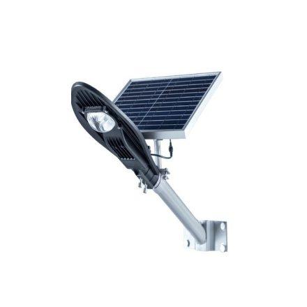 Vízálló-Napelemes 30 W utcai Led Lámpa -Távirányítóval CCLamp