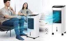 Air Cooler - Hordozható léghűtő, párásító, ventilátor - 120W