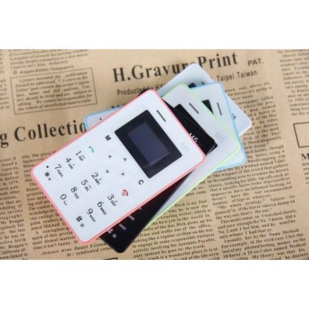 Mini mobil Kártya telefon mini mobil AEKU M5