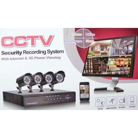 CCTV 4 KAMERÁS MEGFIGYELŐ KAMERARENDSZER