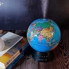 Aroma diffúzor / ultrahangos párásító, földgömb alakú