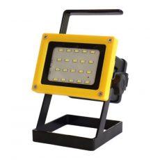 Akkumulátoros LED lámpa állítható állvánnyal