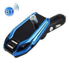 X8 Plus vezeték nélküli Bluetooth autó MP3 zenelejátszó FM jeladó autós töltő adapter két USB porttal