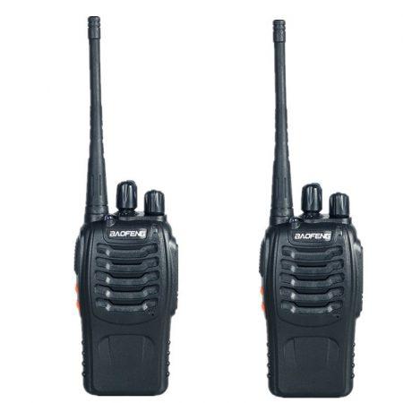 1 PÁR UHF WALKIE TALKIE RÁDIÓ