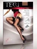TERRI - Angel Szatén fényű 15 denes Lycrás női combfix