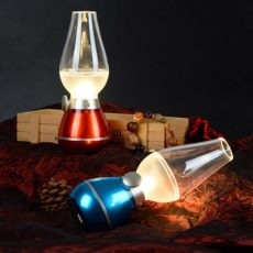 Elfújható -retro petróleum Lámpa