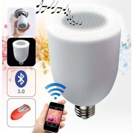 Bluetooth led égő és hangszóró