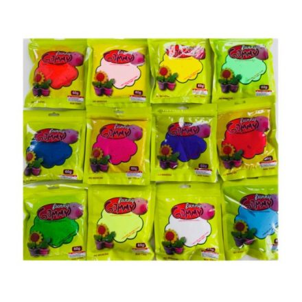 Funny Gummy-Habszivacs gyurma 4 db/csomag