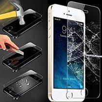 Apple iPhone 5 5S 5C SE karcálló edzett üveg kijelzőfólia  Iphone SE