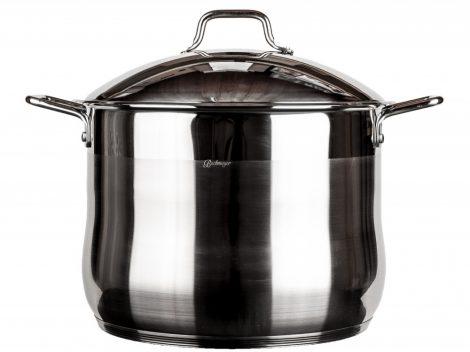 Bachmayer rozsdamentes fazék fém fedővel 26 L