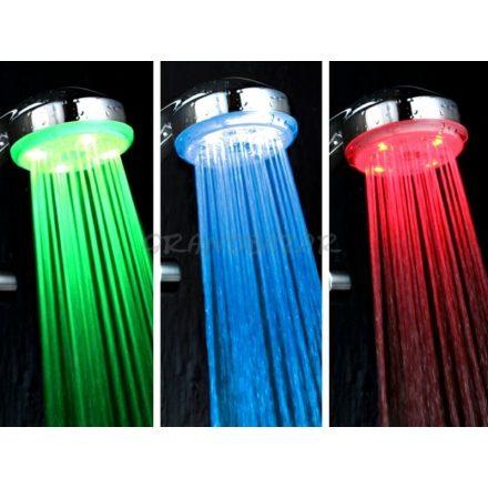 LED-es zuhanyfej Multi Colour-Legyen a zuhanyzás is hangulatos!
